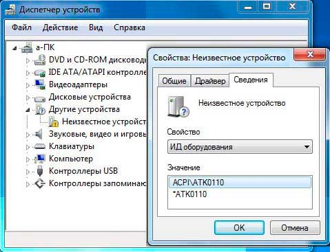 ASUS ATK0110 DRIVERS WINDOWS 7